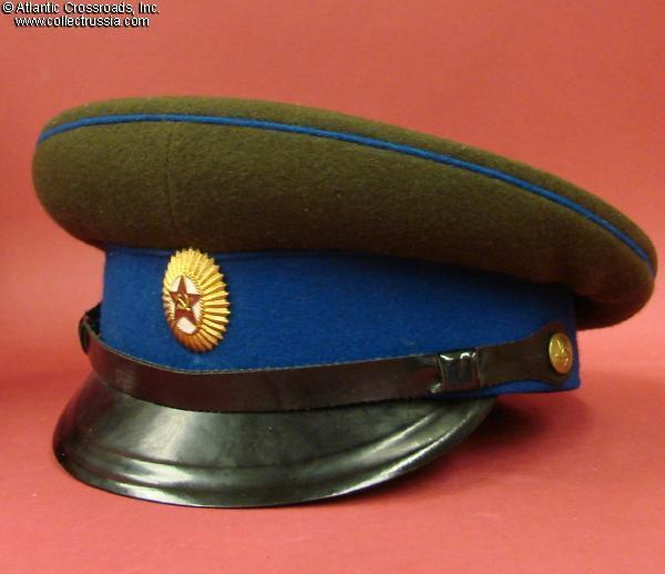 cf2a6c4c5 Collect Russia KGB State Security officer service visor hat, dated ...
